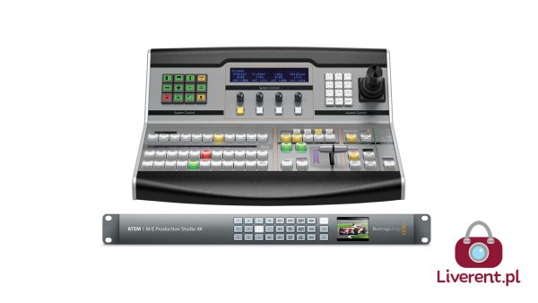 Blackmagic Design ATEM 1 M/E Production Studio 4K + Broadcast Panel